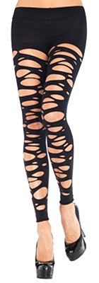 Footless Tattered Tights