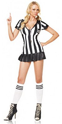 Referee Game Official Adult Costume