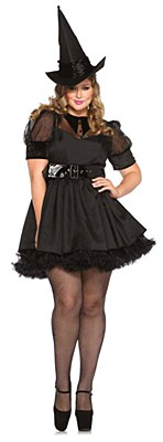 Bewitching Witch Adult Plus Costume