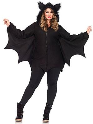 Cozy Bat Adult Plus Costume
