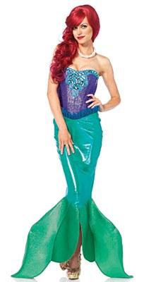 Deep Sea Siren Ariel Adult Costume