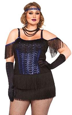 Gatsby Flapper Adult Plus Costume