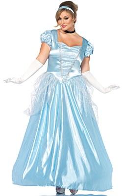 Cinderella Classic Adult Plus Costume