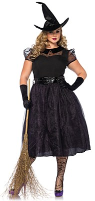 Darling Spellcaster Witch Adult Plus Costume