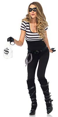 Bank Robbin Bandit Adult Costume