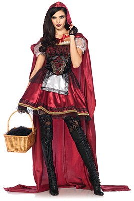 Captivating Miss Red Riding Hood Adult Costume