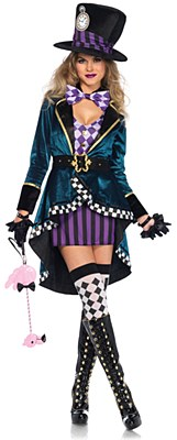 Delightful Mad Hatter Adult Costume