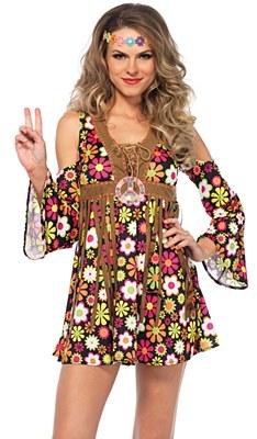 Starflower Hippie Adult Costume