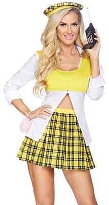 Clueless Cutie Cher Adult Costume