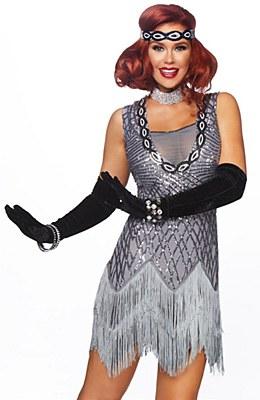 Roaring Roxy Flapper Adult Costume