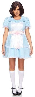 Creepy Sibling Doll Adult Costume