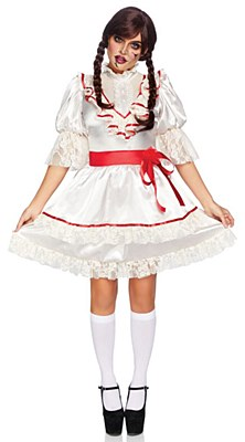 Haunted Doll Adult Costume