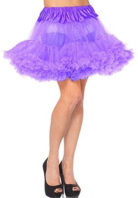 Layered Stiff Tulle Purple Petticoat