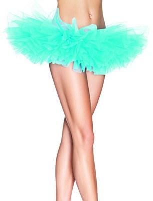 Organza Light Blue Tutu Skirt