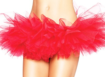 Organza Red Tutu Skirt