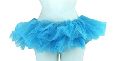 Organza Turquoise Tutu Skirt