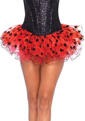 Polka Dot Chiffon Tutu Skirt