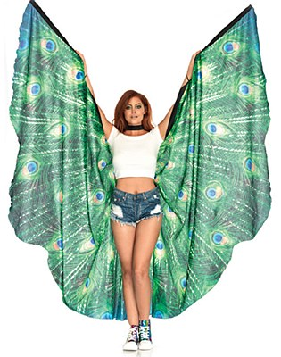Festival Peacock Wings Cape