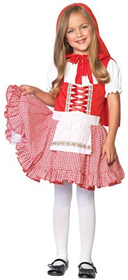 Lil' Miss Red Riding Hood Child Costume