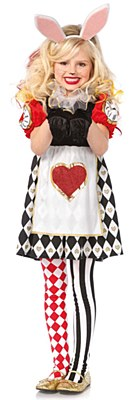 Wonderland Rabbit Child Costume