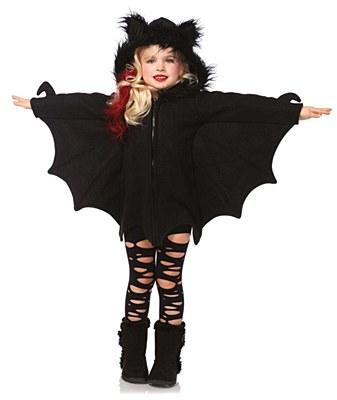 Cozy Bat Child Costume