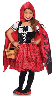 Storybook Red Riding Hood Child Costume