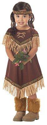 Lil' Indian Princess Toddler Child Costume