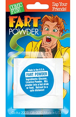Fart Powder Gag