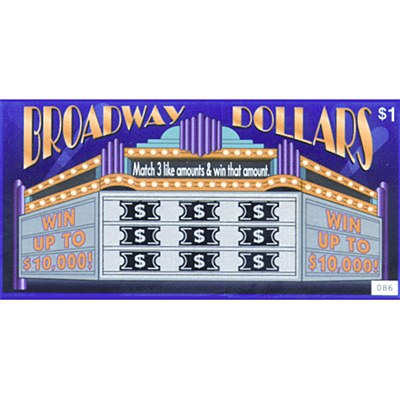 Lottery Tricktics - Broadway Dollars