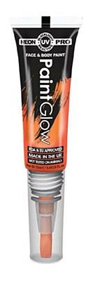 UV Blacklight Face And Body Glow Paint - Orange