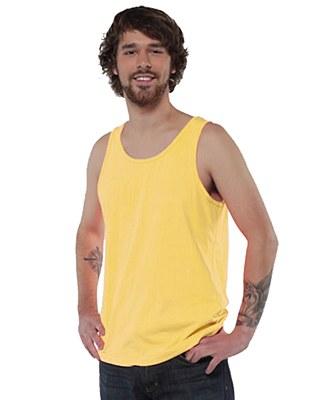 80's Unisex Neon Yellow Tank Top