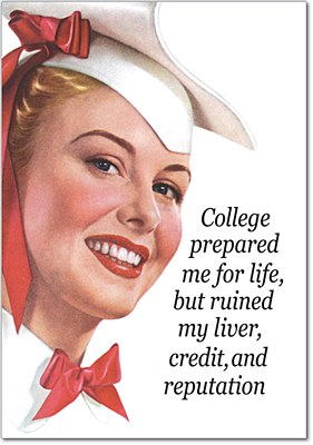 Graduation - College Greeting Card