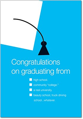 Graduation - Trucker School Greeting Card