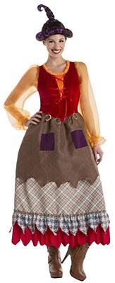 Hocus Pocus Goofy Salem Sister Witch Mary Sanderson Adult Costume