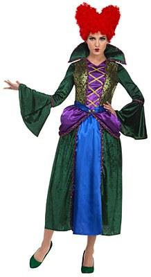 Hocus Pocus Bossy Salem Sister Witch Winifred Sanderson Adult Costume
