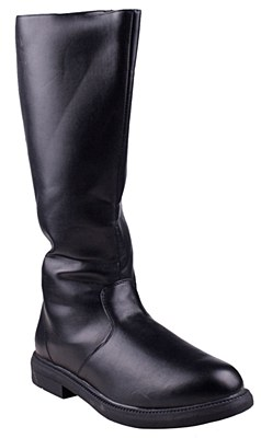 Pirate Captain Tall Black Men's Boots