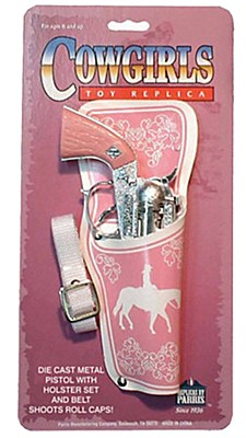 Cowgirl Pink Holster And Gun Set