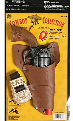 Big Tex Holster Gun Set And Belt