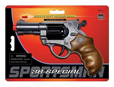 38 Special Revolver Pistol Gun
