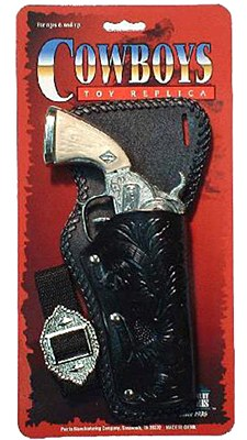 Stagecoach Single Holster And Gun Set