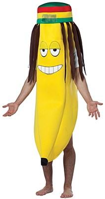 Rasta Banana Adult Costume
