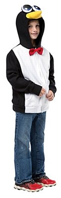 Penguin Hoodie Child Jacket