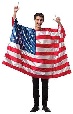 USA Flag Adult Costume