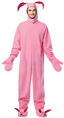 A Christmas Story Bunny Suit Adult Costume