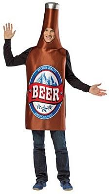 Beer Bottle Adult Costume