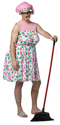 Manny Granny Old Lady Adult Costume