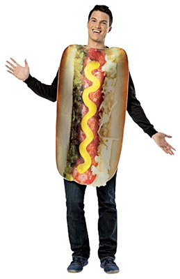 Loaded Hot Dog Adult Costume