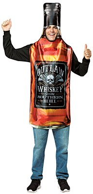 Whiskey Bottle Adult Costume