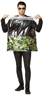 Bag Of Weed Adult Costume