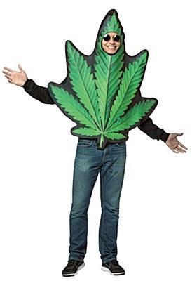 Pot Leaf Adult Costume